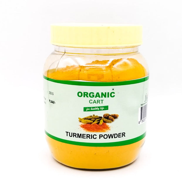Organic Cart Natural Turmeric Powder/हल्दी पाउडर - Organic Cart