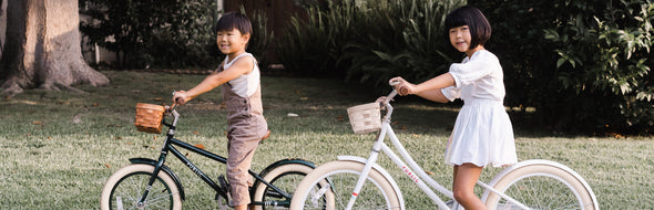 PUBLIC bikes for kids. See kids riding on urban bikes for bikes and cruiser kids bicycles..