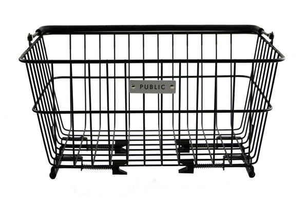 PUBLIC Metal Basket- Black