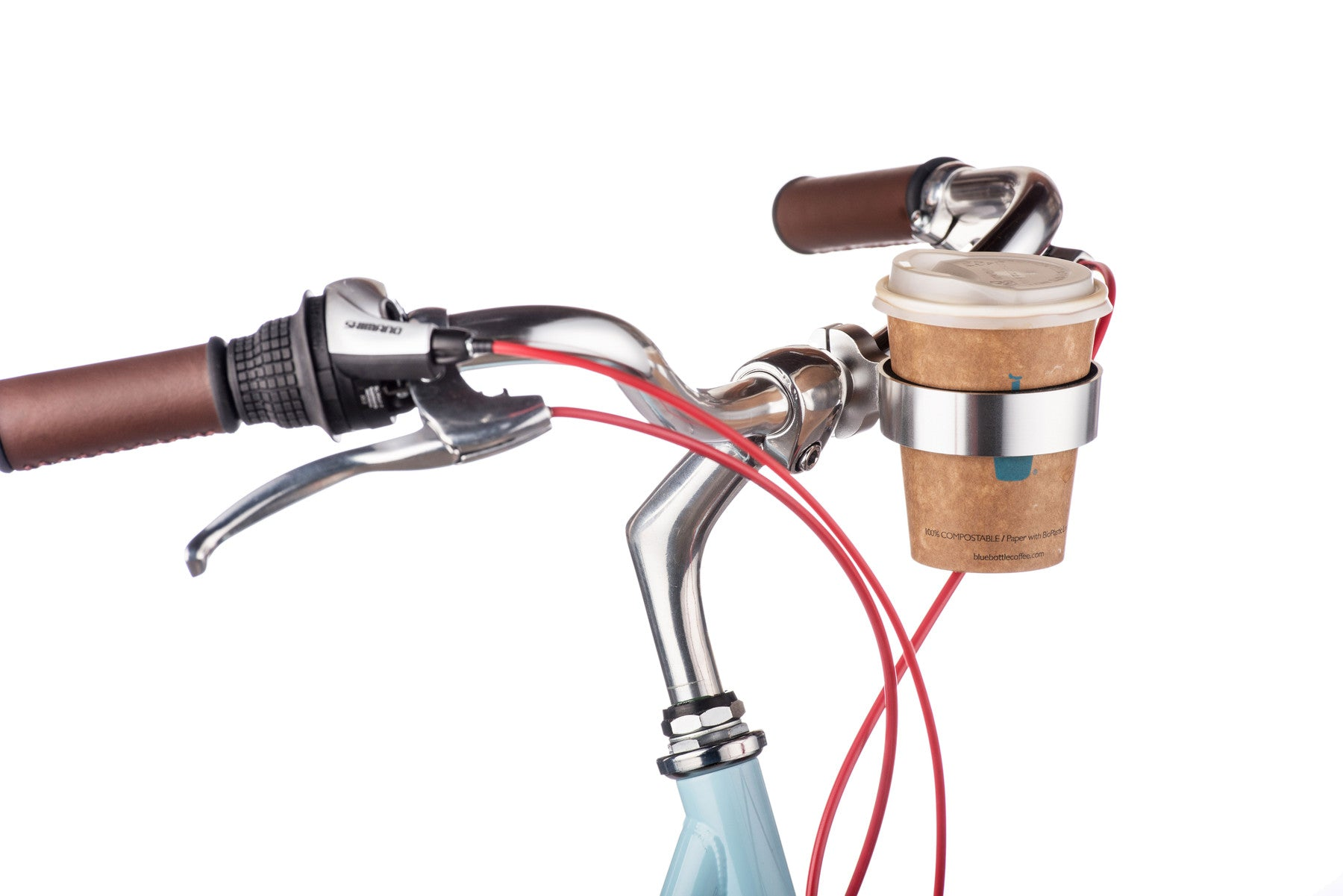 Bike Bicycle Cycling Water Bottle Cup Holder Cage Handle Bar Or Frame