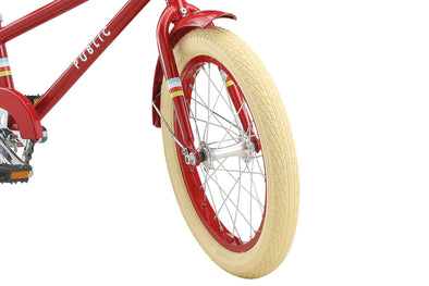 PUBLIC Kid's Bike Tires - Cream