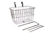 PUBLIC Front Wire Basket - Polished Silver