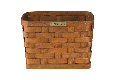 PUBLIC Wood Rack Basket