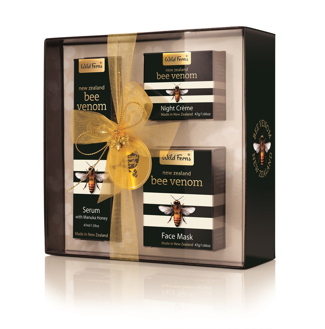 Gift Box Bee Venom, Serum, Night Crème, Face Mask (BVGB)