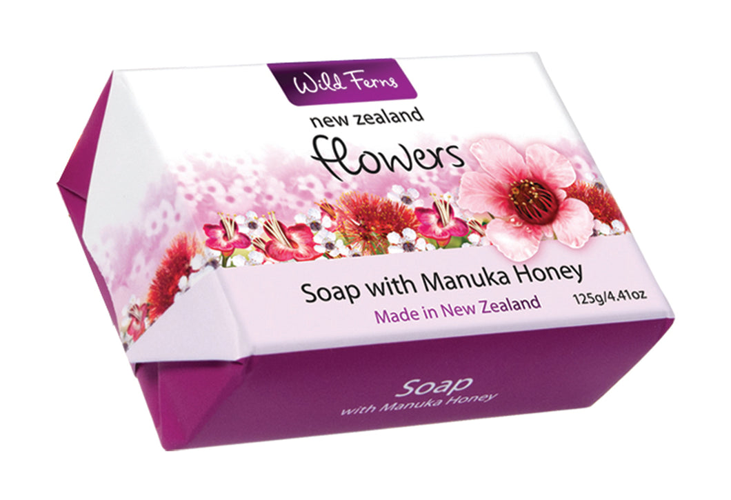 New Zealand Flowers Soap 125g (FLS)