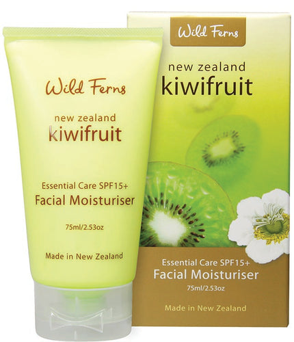 Kiwifruit Facial Moisturiser with SPF 15+ 75ml (KFMS)