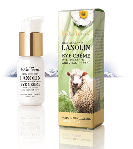 Lanolin Eye Creme with Collagen and Vitamin C & E 30ml (LAEC)