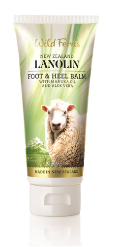 Lanolin Foot and Heel Balm with Manuka Oil and Aloe Vera (LAFH)