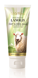 Lanolin Foot and Heel Balm with Manuka Oil and Aloe Vera 100ml (LAFH)