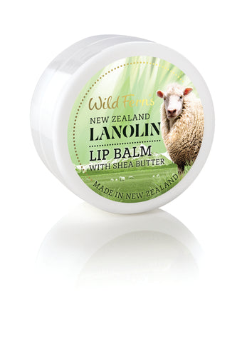 Lanolin Lip Balm with Shea Butter 15g Pot  (LALB)