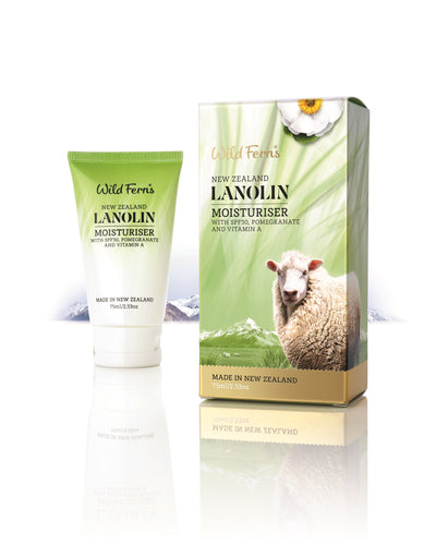 Lanolin with Moisturizer SPF30 with Pomegranate and Vitamin A 75ml (LAMS)