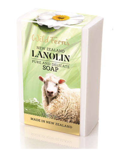 Lanolin Soap 135g (LAS)