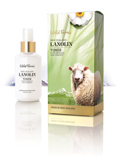 Lanolin Toner with Propolis and Comfrey 140ml (LATO)