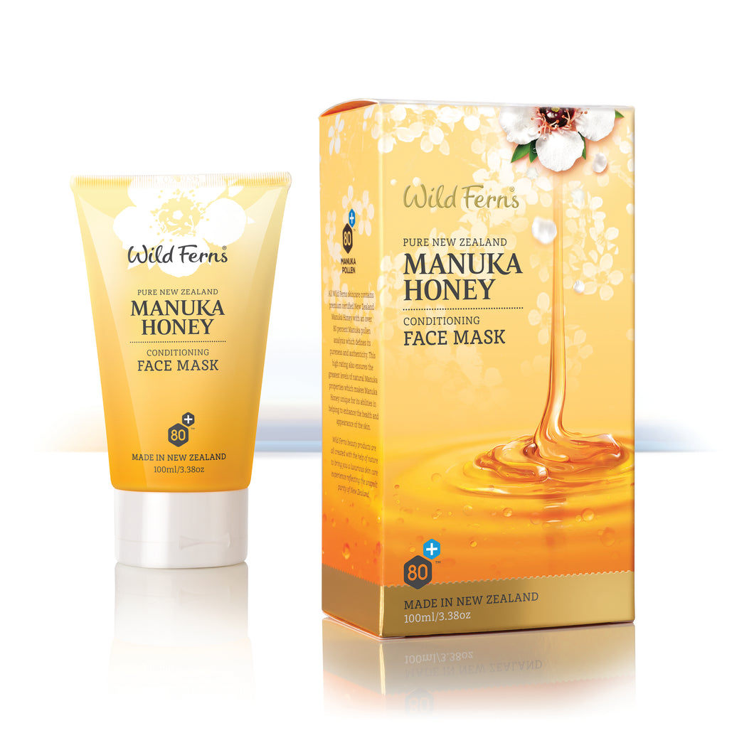 Manuka Honey Conditioning Face Mask 100ml  (MNFM)