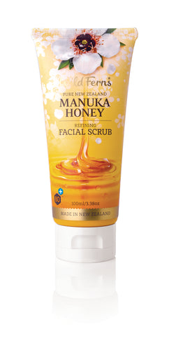 Manuka Honey Refining Facial Scrub 100ml (MNFS)