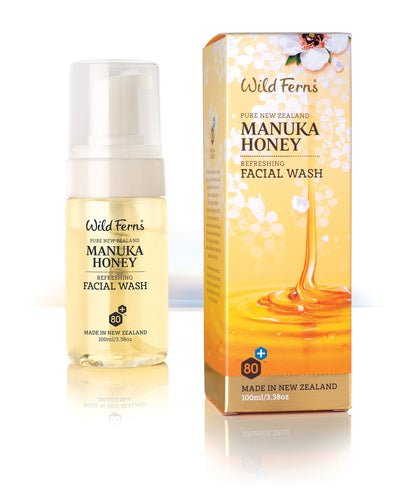 Manuka Honey Refreshing Facial Wash 100ml (MNFW)