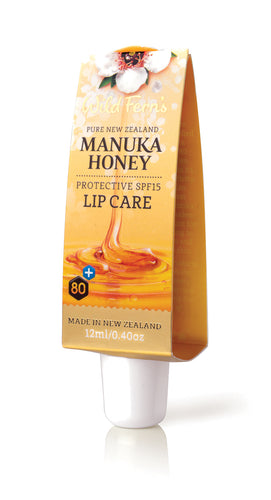 Manuka Honey Protective SPF15 Lip Care 12ml (MNLC)