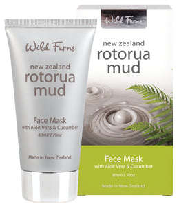 Rotorua Face Mask with Aloe Vera & Cucumber 80ml (RMFM)