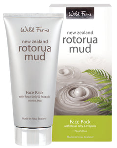 Rotorua Mud Face Pack with Royal Jelly & Propolis 175ml  (RMFPTR)