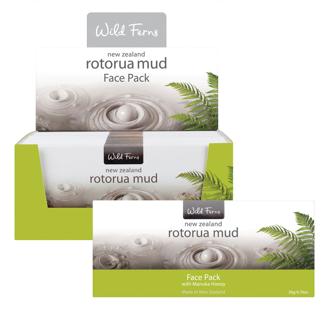 Rotorua Mud Face Pack with Manuka Honey 20g (RMFP)