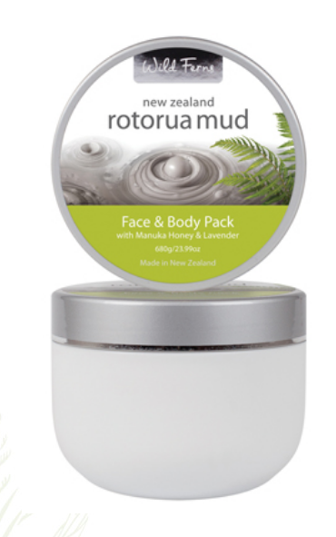 Rotorua Mud Face & Body Pack With Manuka Honey & Lavender 680g (RMFB)
