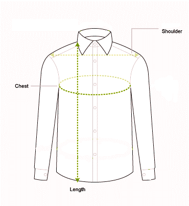 Men's shirt measurements