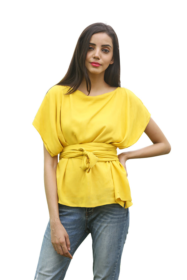 Yellow Top - Canary Japanese Overlapping