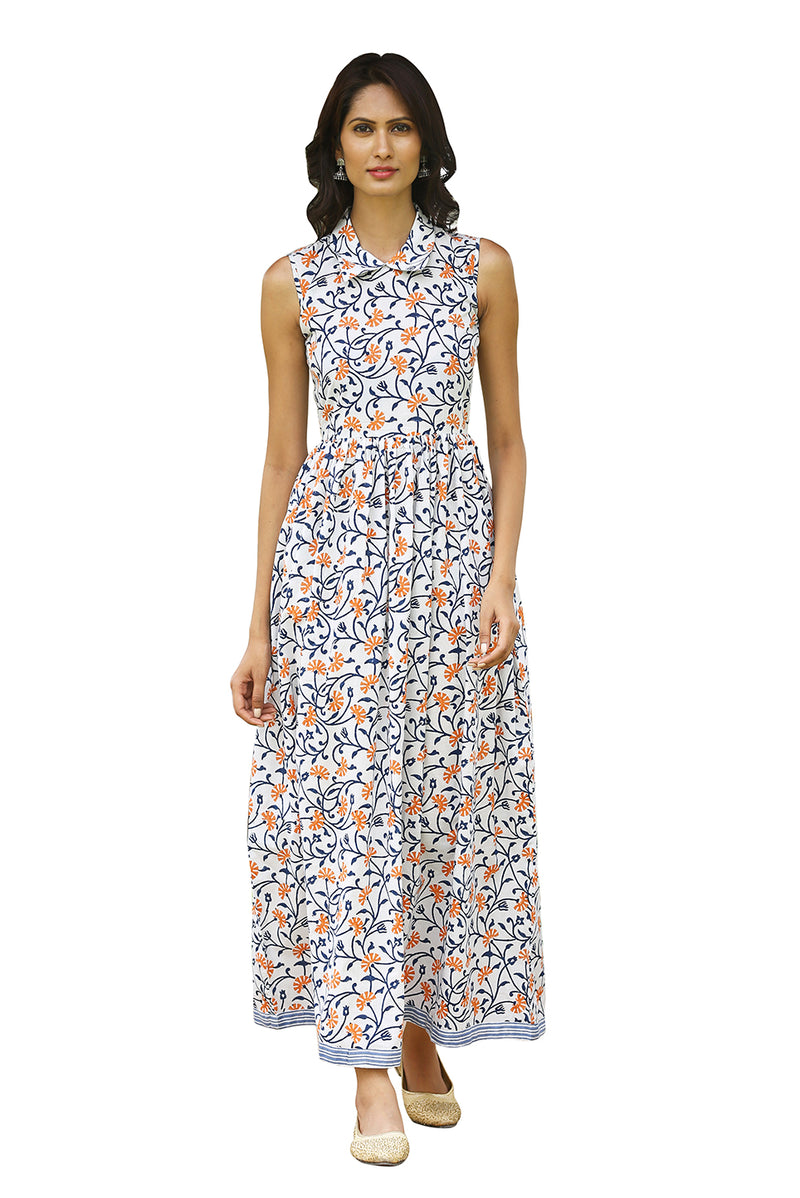 Multicolored Maxi Dress - Ecstatic Floral