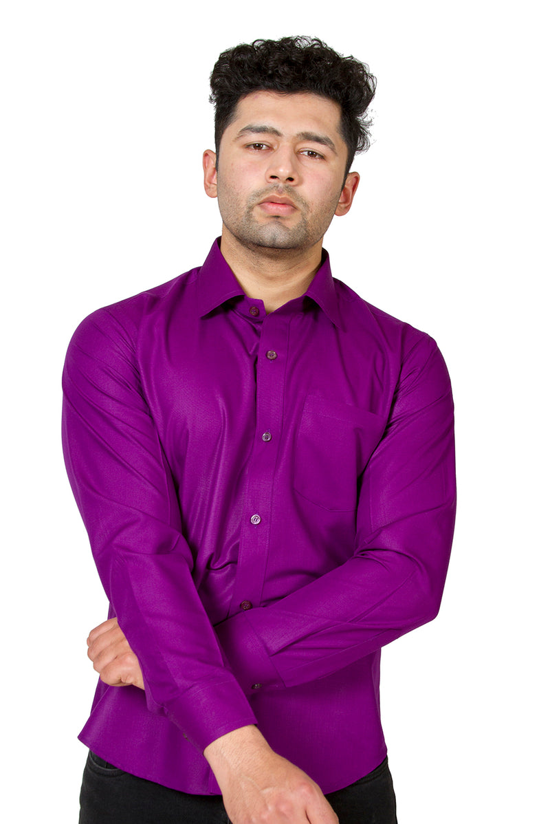 Purple Full Sleeve Shirt