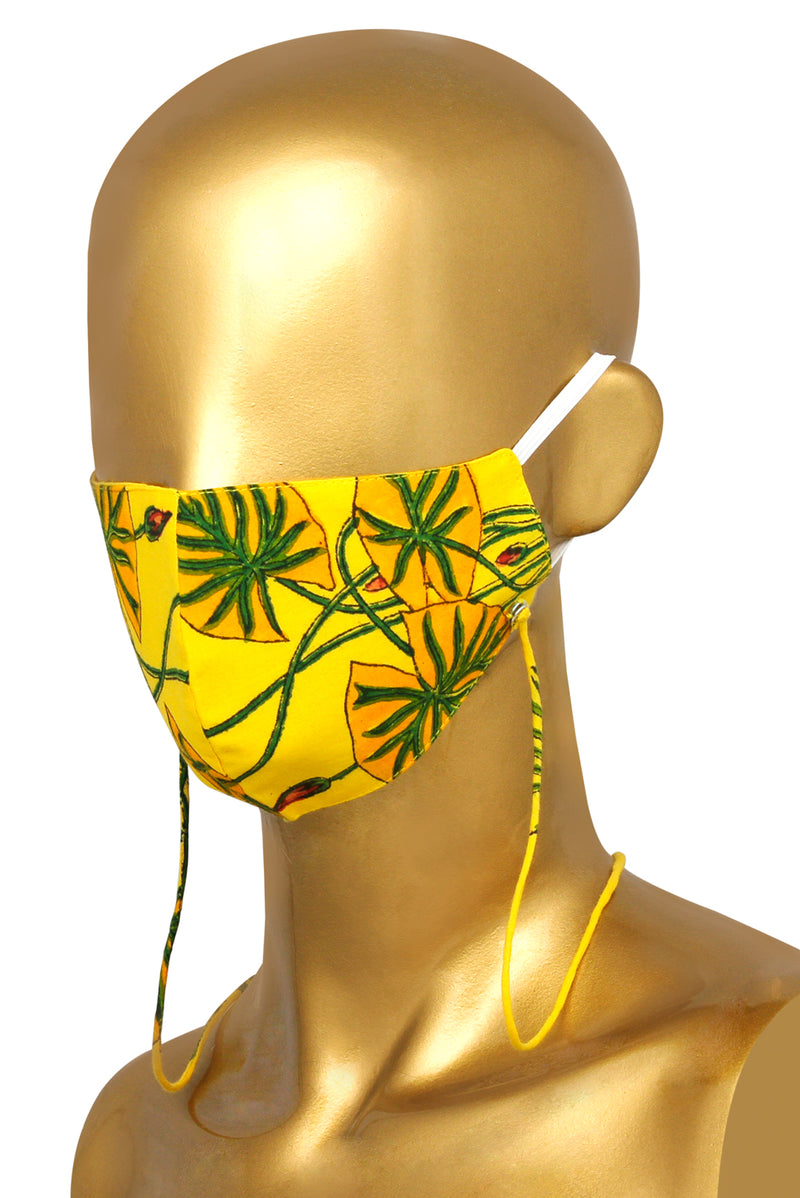 Yellow Face Mask - Hybrid Lotus
