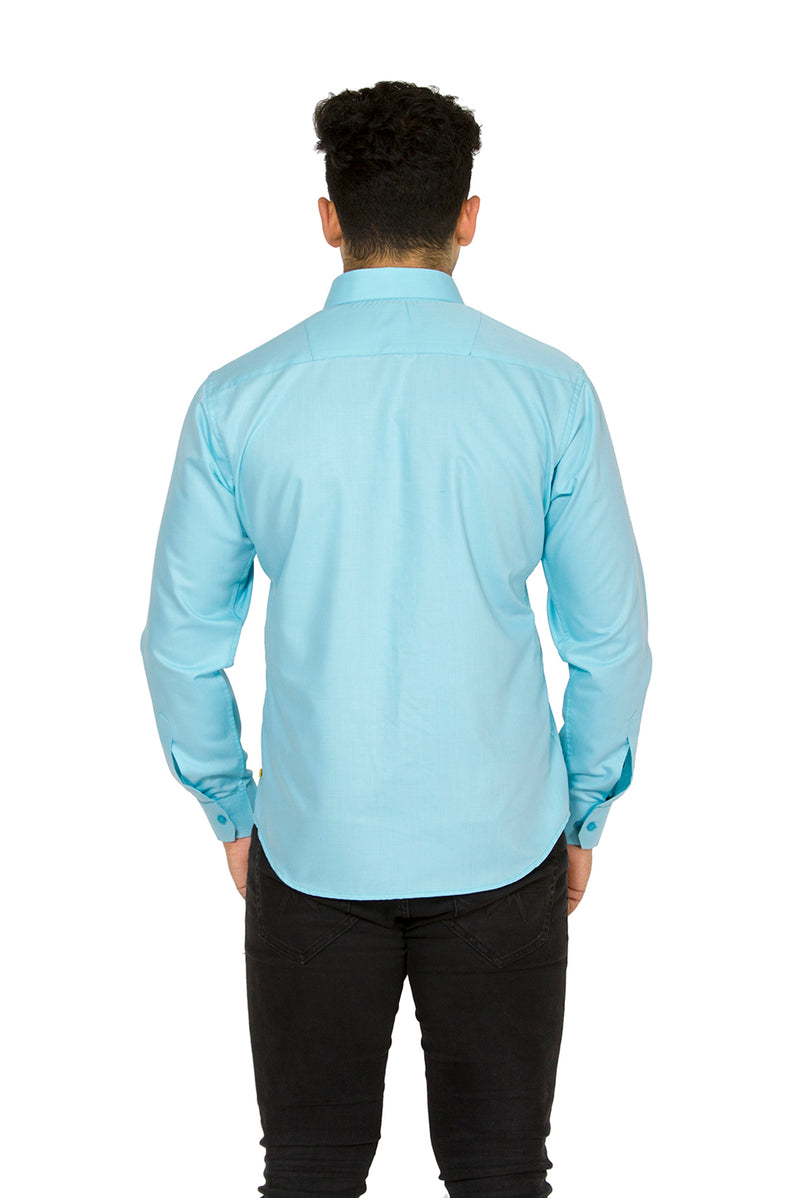 Blue Full Sleeve Shirt