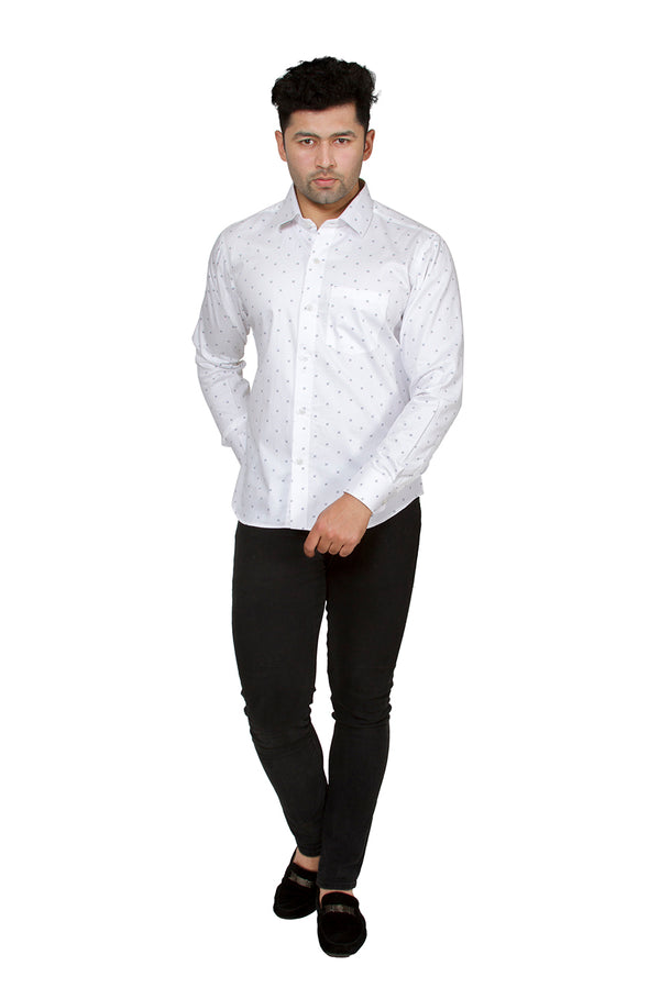 White Full Sleeve Shirt