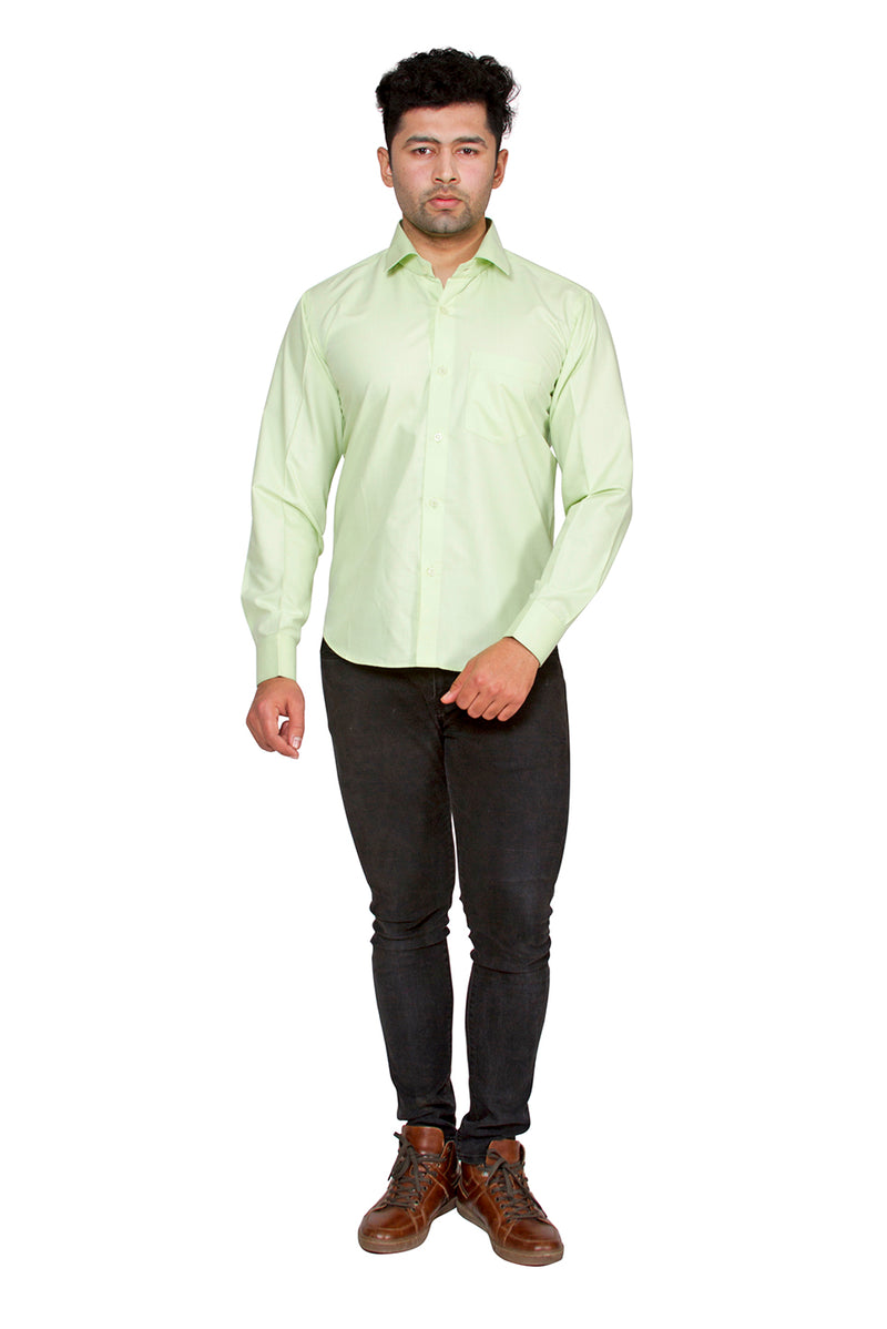 Green Full Sleeve Shirt