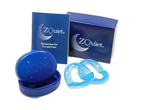 ZQuiet® Anti Snoring Device - 2 Size Starter Pack. IT WORKS INSTANTLY!