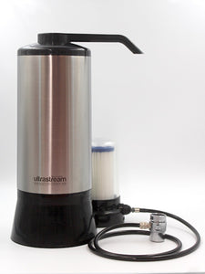 UltraStream Benchtop – Hydrogen Rich Water Ioniser - With Paper Sediment Filter