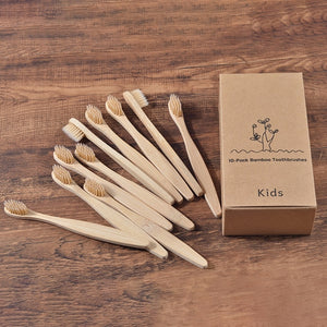 Mixed color bamboo toothbrush - Eco Friendly!