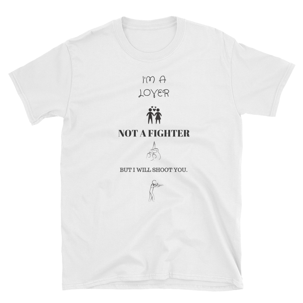 Lover Not A Fighter Short-Sleeve T-Shirt