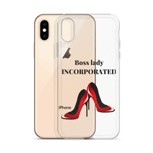 Boss Lady iPhone Clear Case