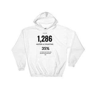 Haters & Counting Hooded Sweatshirt