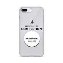 Certified Hustler Clear iPhone Case