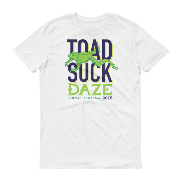 2019 Toad Suck T-shirt - White