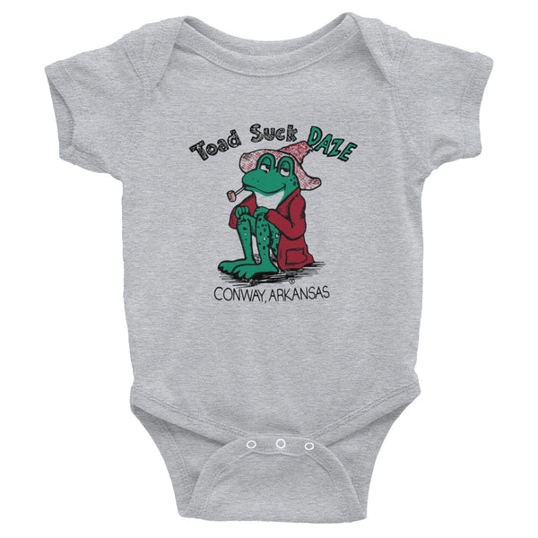 Vintage Toad Suck Daze Infant Onesie