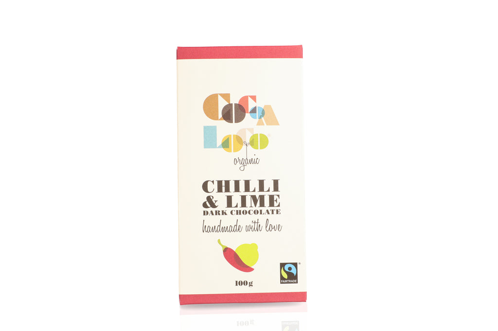 Dark Chocolate, Chilli & Lime Bar