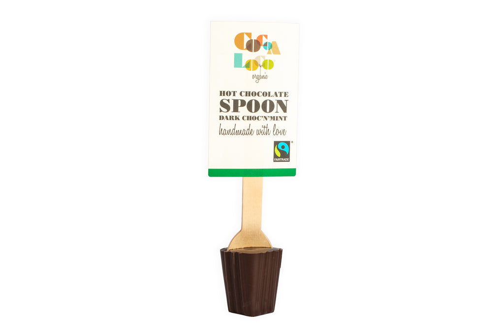 Dark Chocolate & Mint Spoon