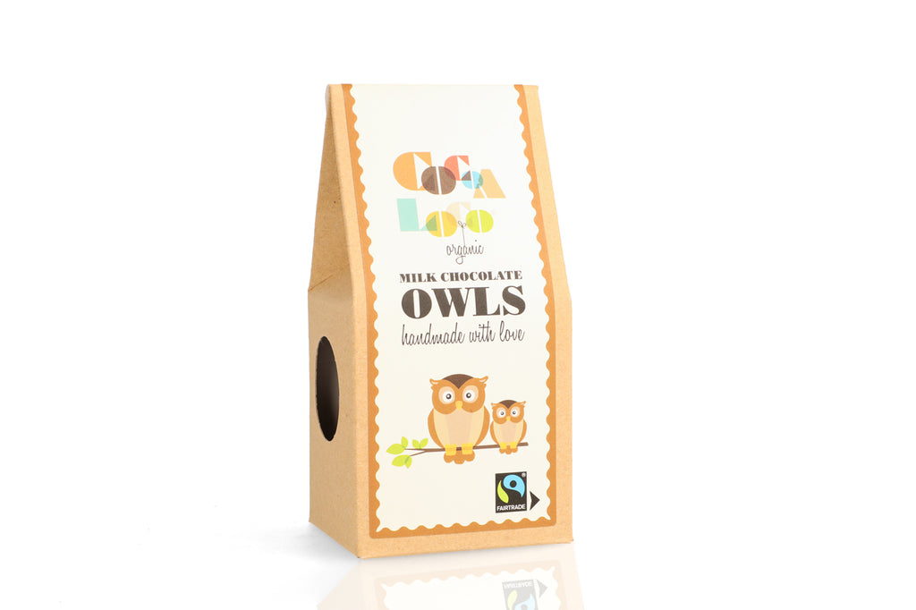 Milk Chocolate Owls