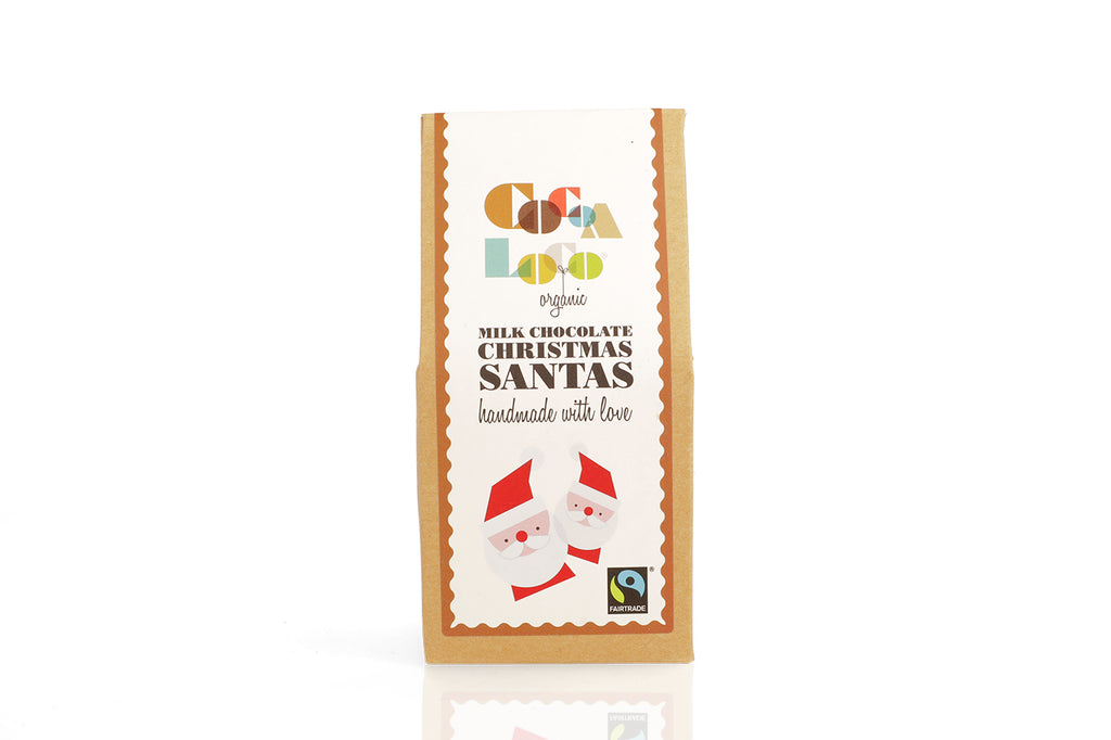 Milk Chocolate Santas