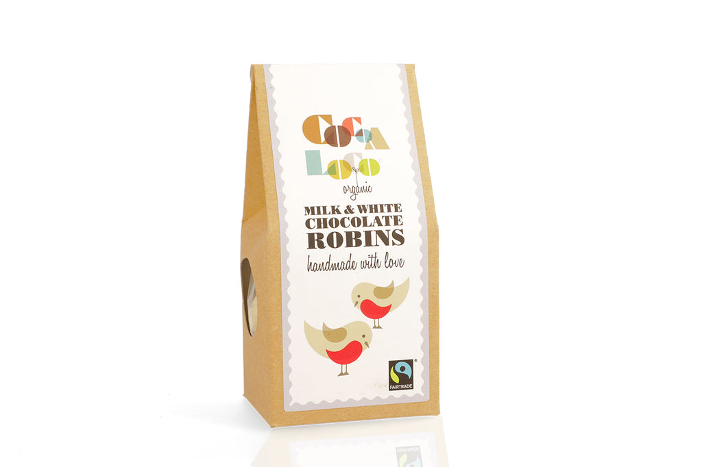 Milk & White Chocolate Robins