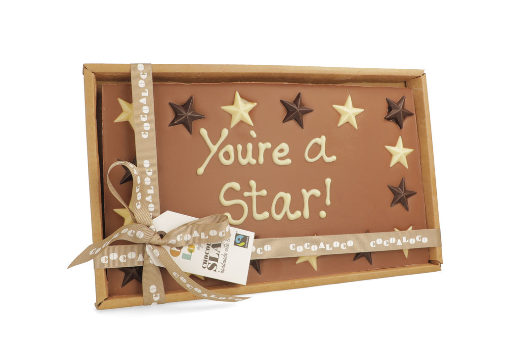 'You're a Star!' 500g Message Slab