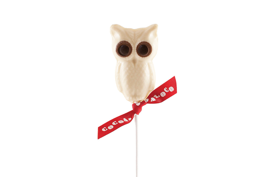 White Chocolate Owl Lolly