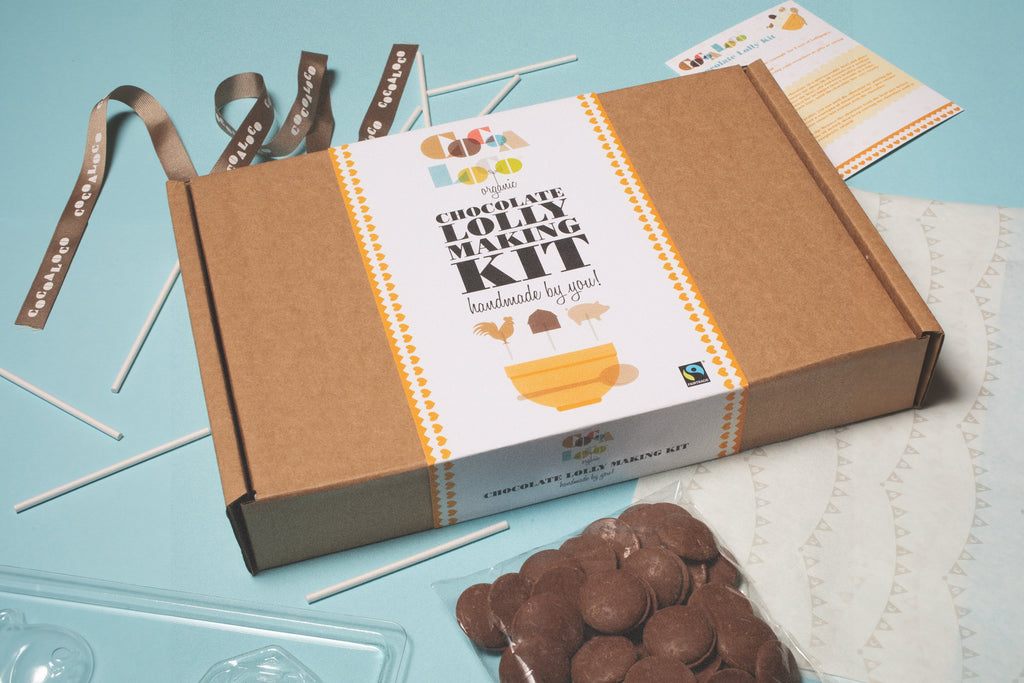 Milk Chocolate Lolly Making Kit
